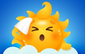 Ola de calor y apagones