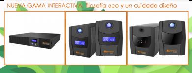 Nueva gama de SAI interactiva